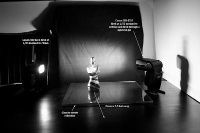 Lighting setup - Jean Paul Gaultier