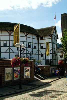 Exterior of the Globe - London, England