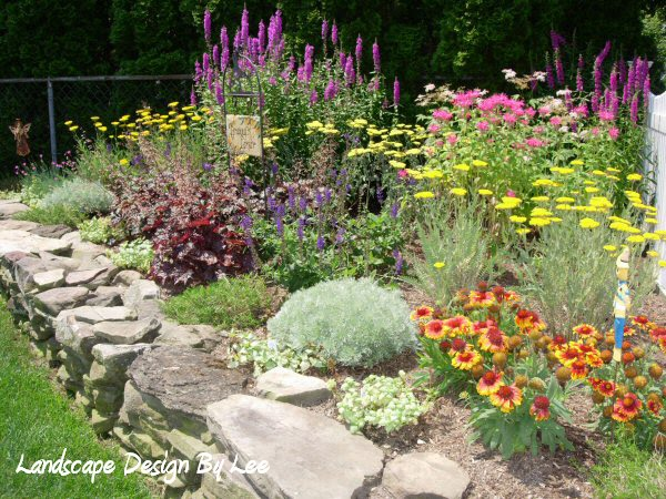 A guide to northeastern gardening thinking spring color for Spring garden designs