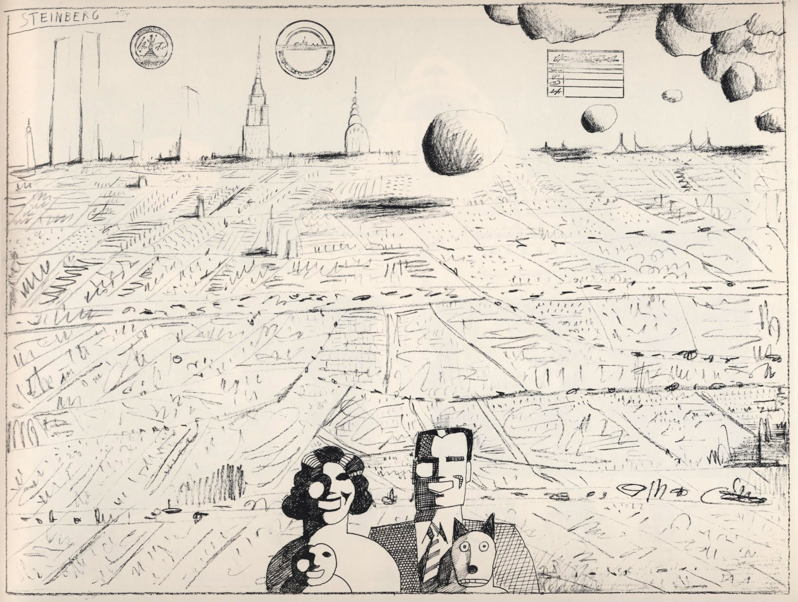 Saul Steinberg - Art - Review - The New York Times