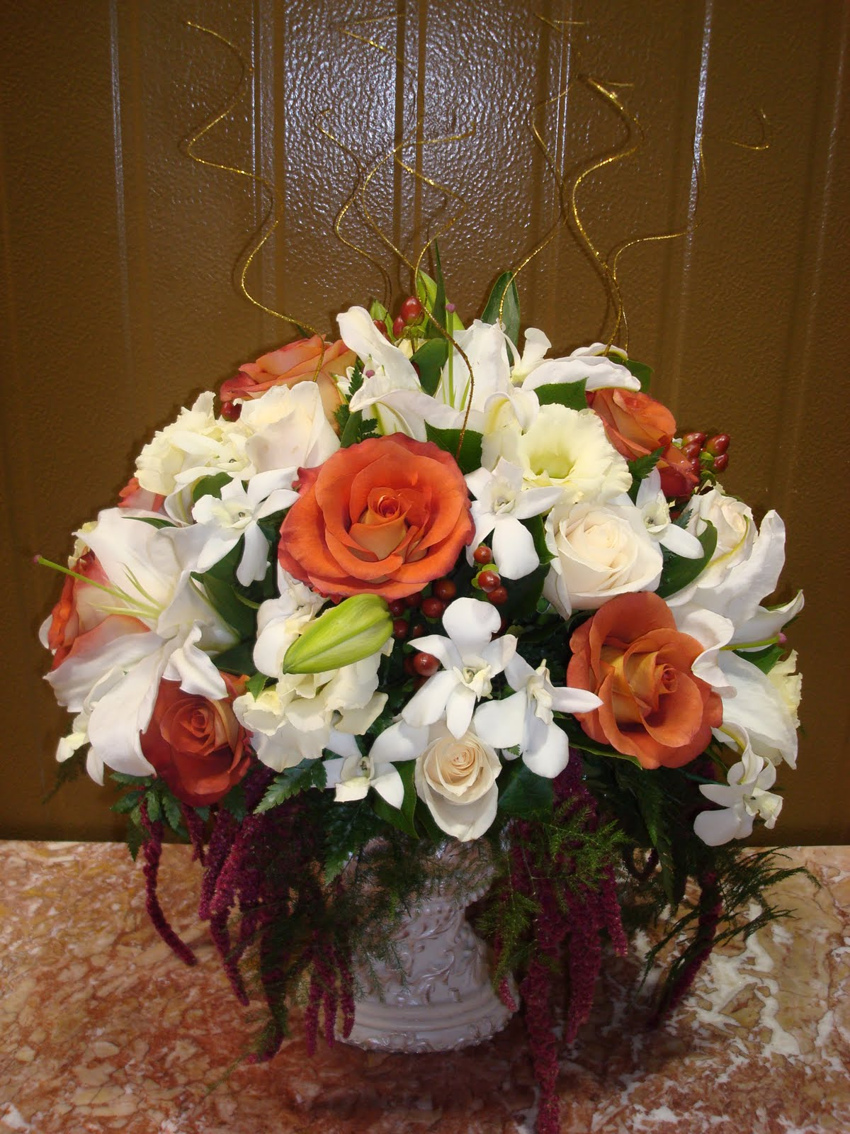 Bernardo 39 S Flowers 50th Anniversary Wedding Flowers