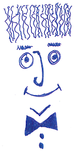 Palíndromo feliz a bolígrafo