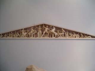Frontón oriental del Partenón