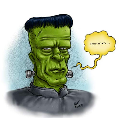 Danny Moore Illustration Frankenstein Frank Monster