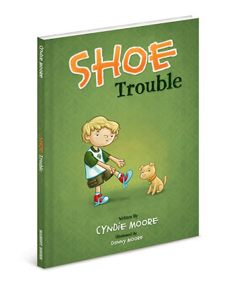 Danny Moore Illustration Shoe Trouble Cover