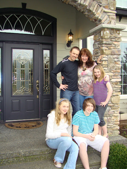 Lynette's family in May 2008