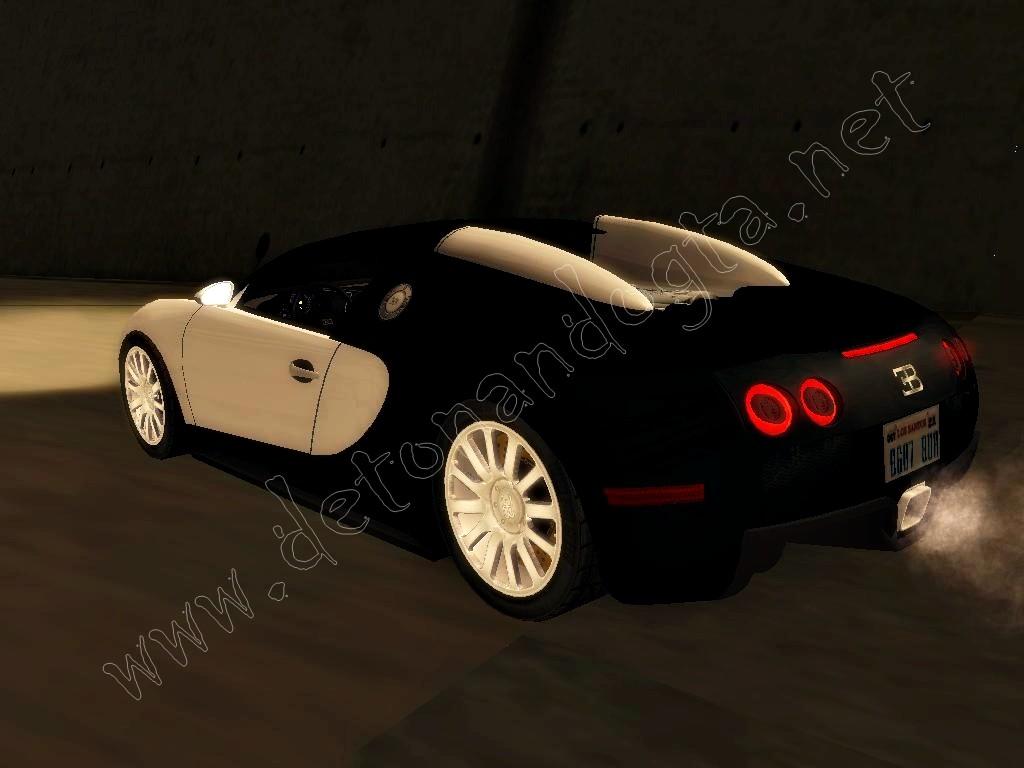 gta sa bugatti veyron super sport gta maluko mods para. Black Bedroom Furniture Sets. Home Design Ideas