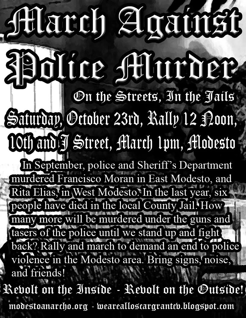 March Against Police Murder!