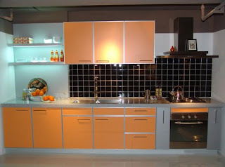 kitchen colour idea bold