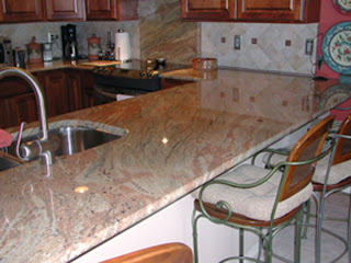 Granite Kitchen Countertop Picture
