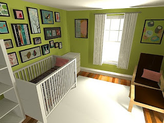 Ikea Nursery Ideas The Saturday Question: How Did You Green Baby's Nursery