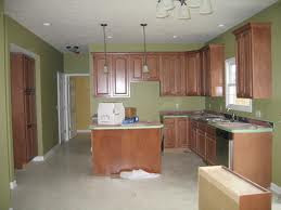 Green Kitchen Paint