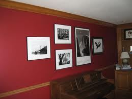 This is Ralph Lauren barn red in my family room