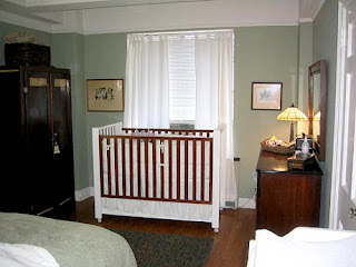 a nursery, but my bedroom which I will share with my baby boy