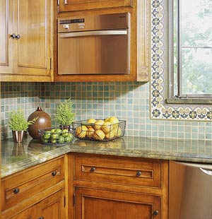 kitchen countertop tile