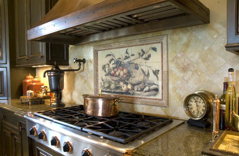Kitchen backsplash murals Kitchen backsplash ideas pictures 2010