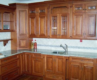 L Shaped Kitchen Designs  It showcases a custom designed L-shaped kitchen with an