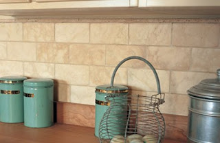 Kitchen Wall Tiles  Timera Chiaro stone wall tiles