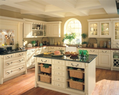 One Wall Kitchen With Island