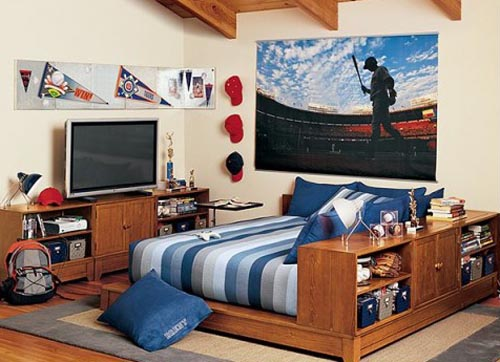 decoration boys room Teen Room Design for Boys