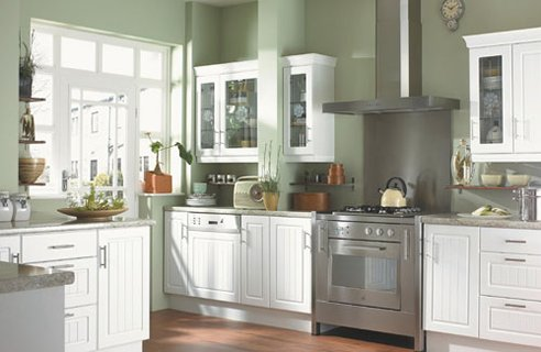 White Kitchen Design Ideas White county style kitchen from a selection