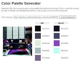 Color Pallet Room Ideas