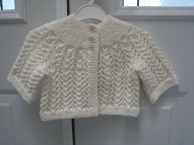 ELIZABETH ZIMMERMAN FEBRUARY BABY SWEATER PATTERN Sewing Patterns for Baby