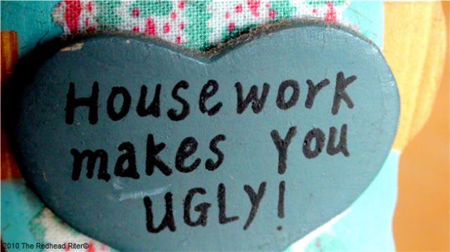 Housework makes you ugly