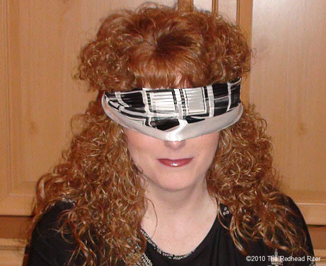 Blind Redhead Riter