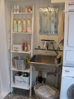 Interiør vaskerom