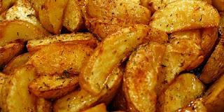 Recipes on a Budget: Oven Roasted Yukon Potato Wedges