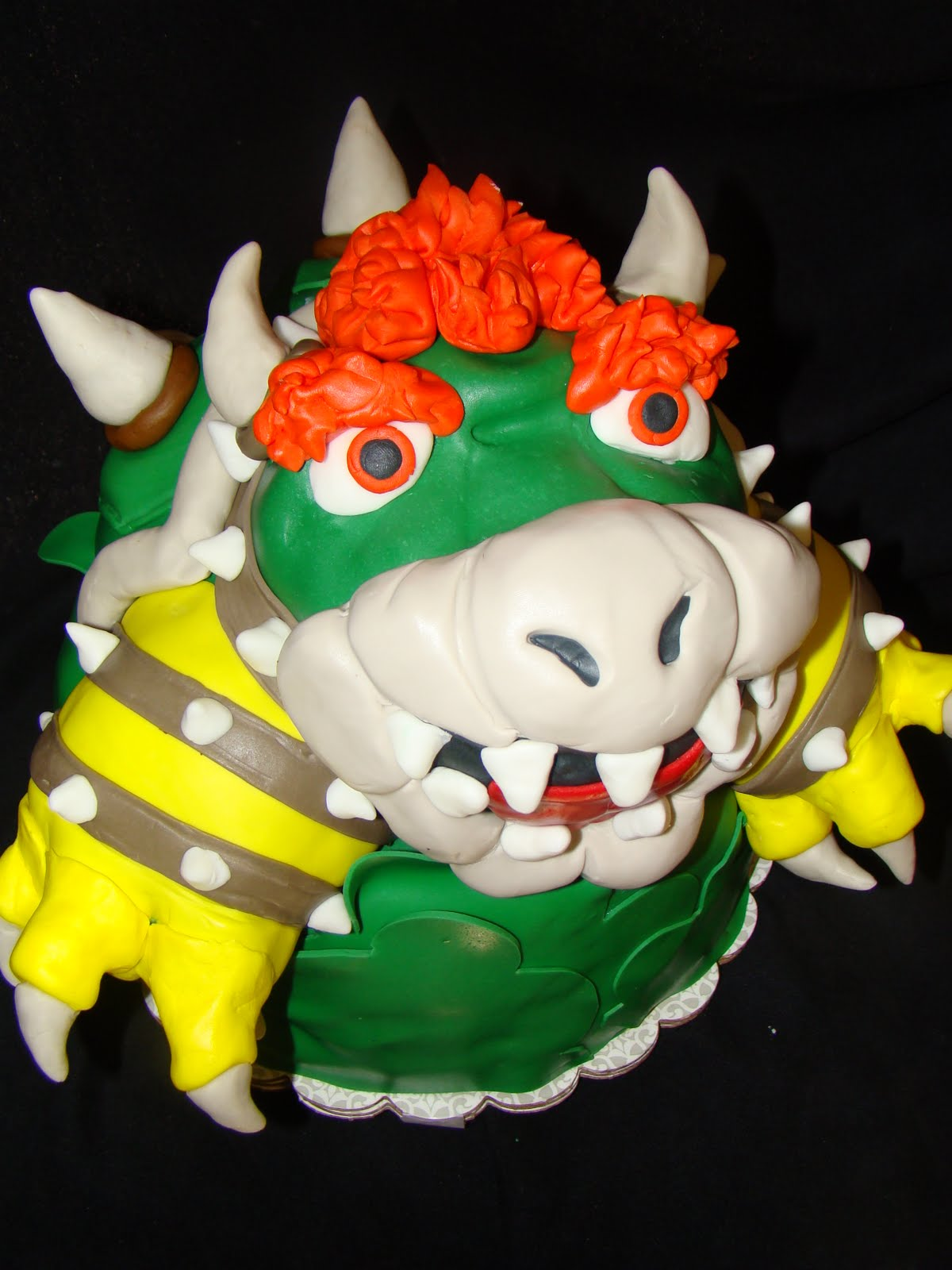 Layers Of Love Bowser Cake - Bowser birthday cake