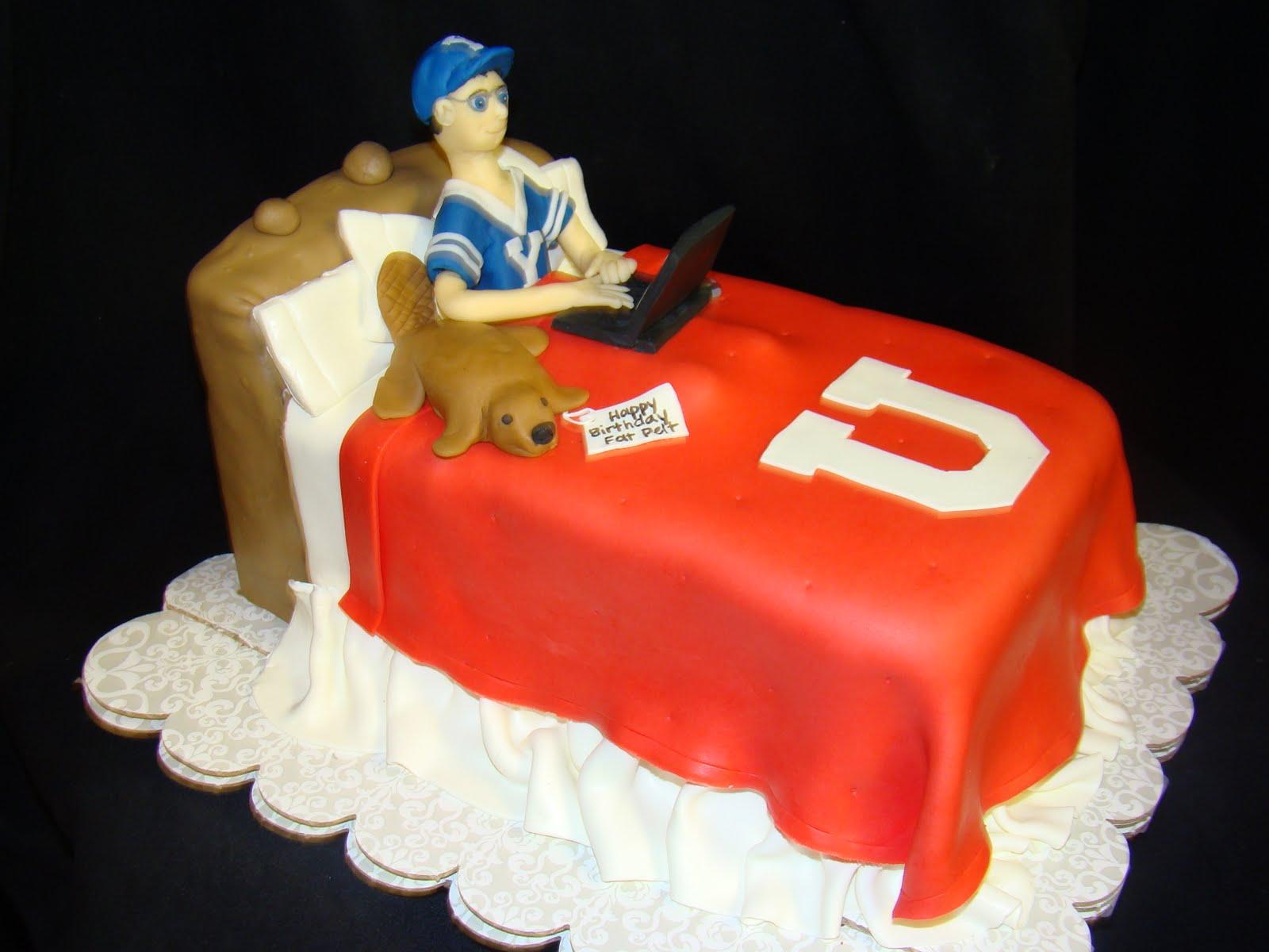Birthday Cakes Utah ~ Layers of love: byu? cake