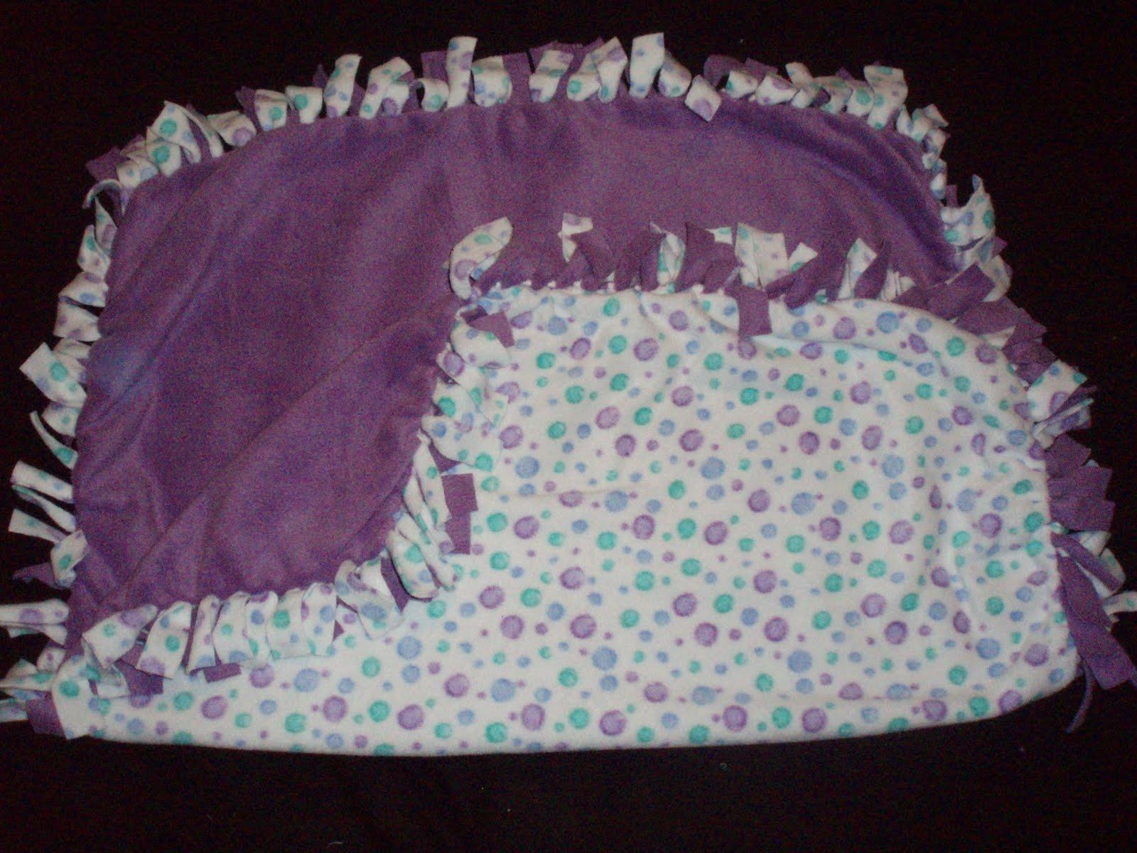 jo s comfy babies fleece tie blankets