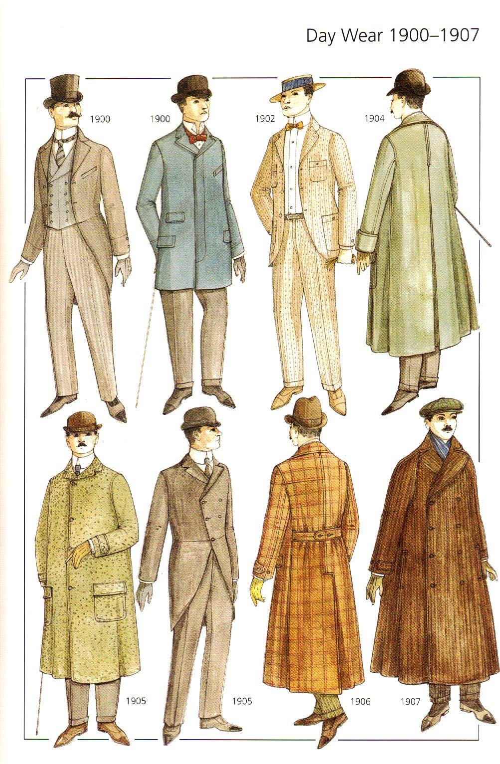 early 1900s fashion men - photo #25