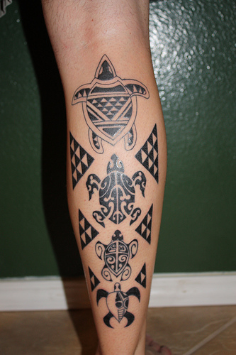 s between some of the Polynesian tattoos, the Maori Tattoos and the Samoan