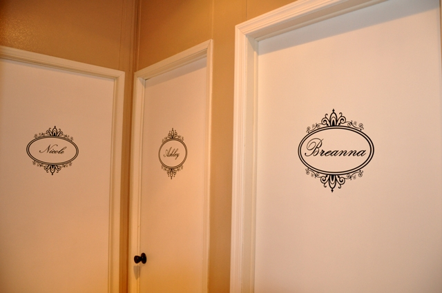 Fabulous friend family door nameplates for Door name plates