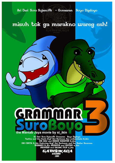 """GRAMMAR SUROBOYO 3 episode """"MANTAB JAYA """""""