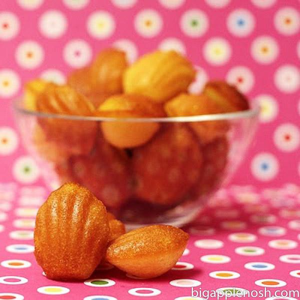 ... Food | Beauty | Fitness | Lifestyle | Recipe: Lemon-Glazed Madeleines