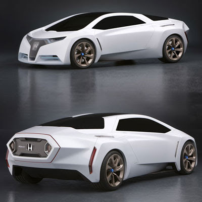 Sport Cars on Fc Sport Design Study Model  A Hydrogen Powered  Three Seat Sports Car
