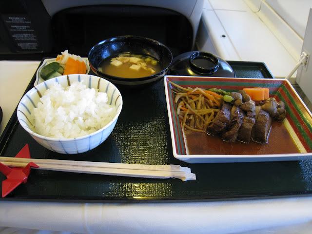 Japanese main dish on JL061