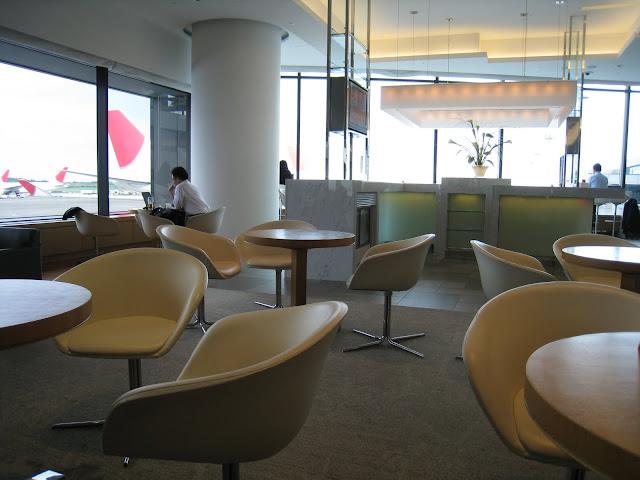 JAL Sakura Lounge at Tokyo Narita