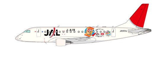 J-AIR's Embraer 170 aircraft with COP10 livery, registration JA217J