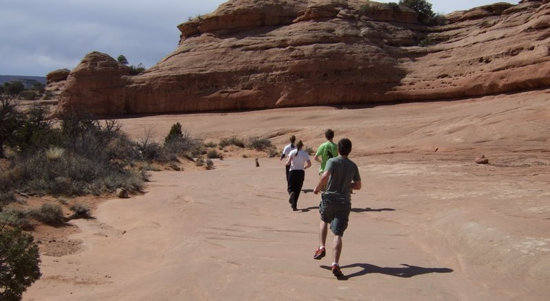 [We+ran+to+and+from+Delicate+Arch+because+we+only+had+an+hour+for+what+the+visitor+guide+calls+a+]