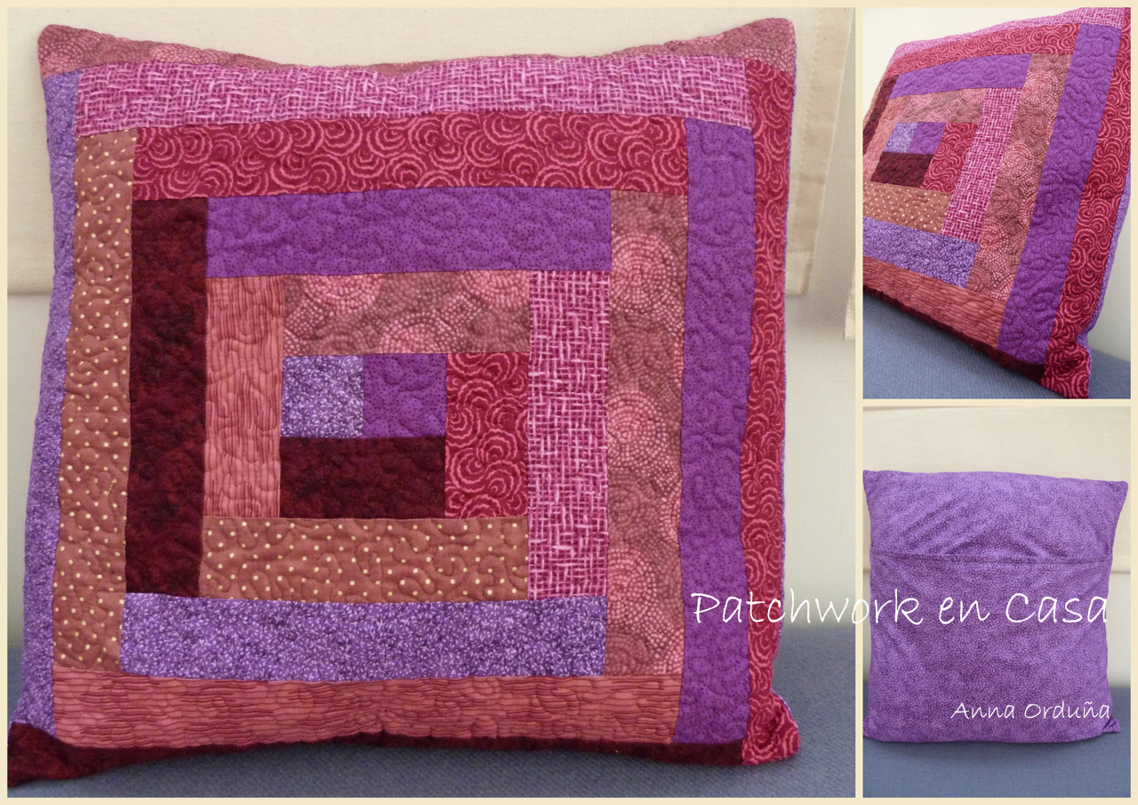Patchwork en casa patchwork with love tutoriales - Patchwork en casa ...