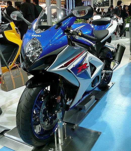 Contest Modification of Suzuki GSXR-1000 title=