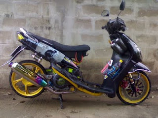 Racing Sport  Modifcation Mio Trend