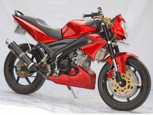 gambar Modifikasi Yamaha Vixion Street Fighter