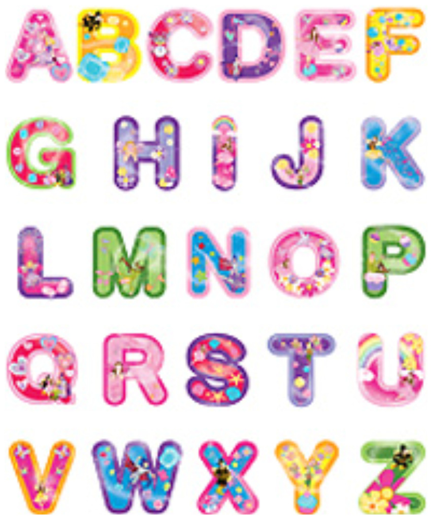 Wall stickers childrens alphabet wall stickers thousands wall sticker alphabet i am going to selected the fairies alphabet amipublicfo Images