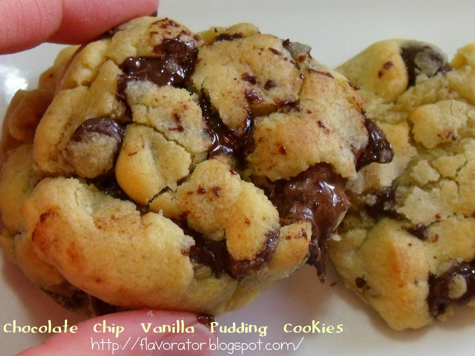 : Chocolate Chip Vanilla Pudding Cookies + Triple Chocolate Chocolate ...